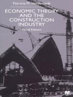 use industrial economic theory to assess Introduction the research question of this critique concerns the transformation mechanisms that might enable the underdeveloped countries (udcs) to metamorphose their current bleak and.